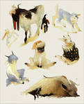 [CLOSED] Adoptables - Goat Creatures (Auction)