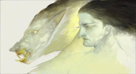 (PRINT) Werewolf by IJKelly