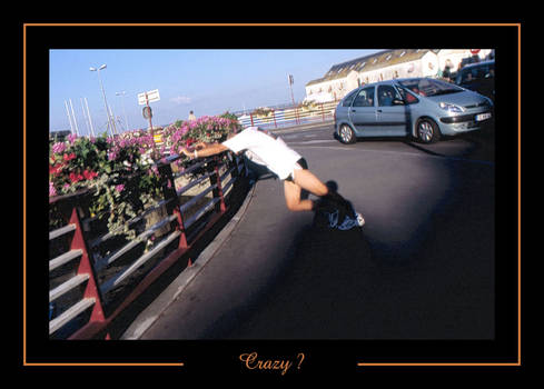 Croisic Man Crazy Man