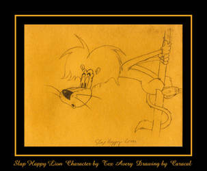 Slap Happy Lion By Caracal On Deviantart