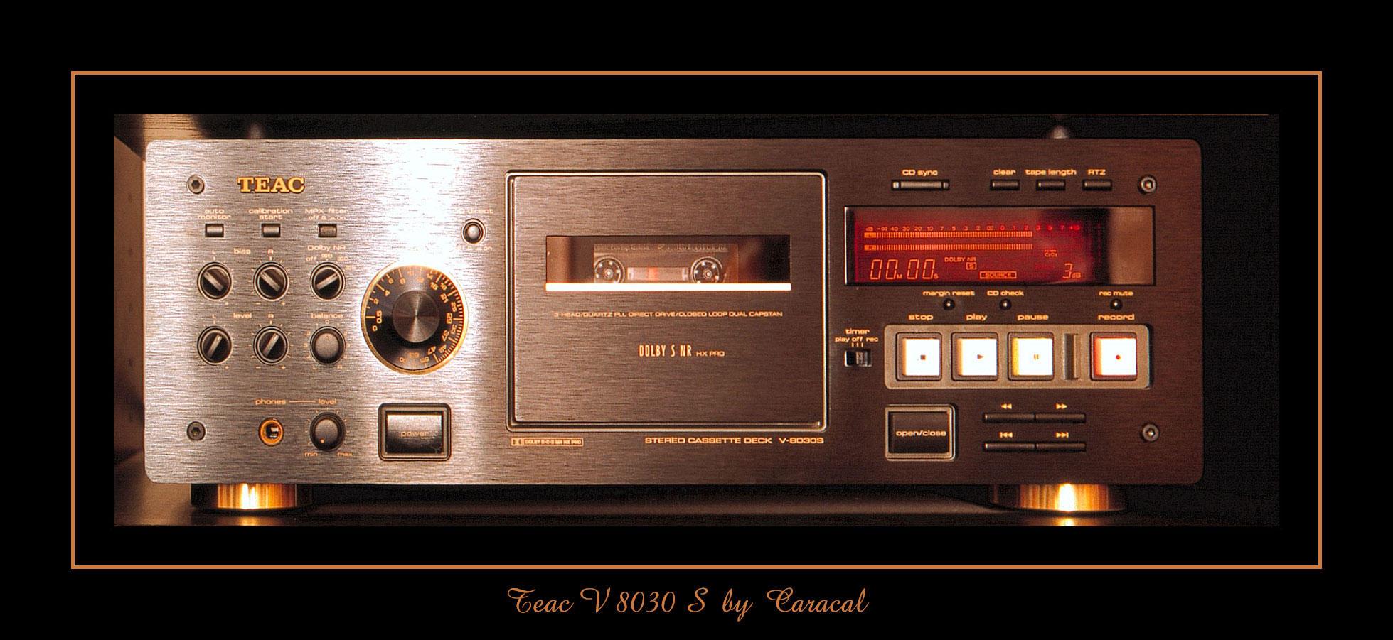 TEAC V 8030 S by caracal