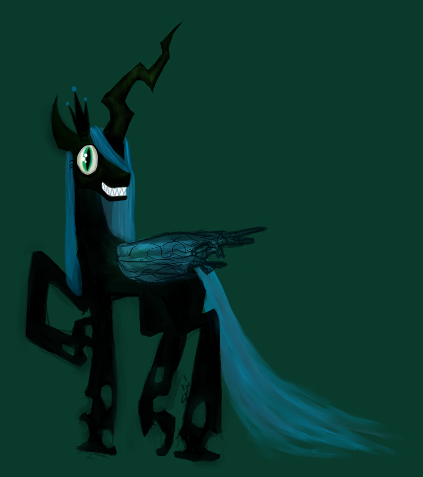 Queen Of the Changelings by Actinozoan