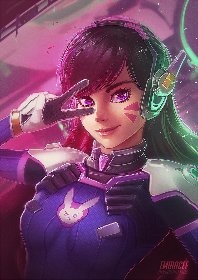 D.va by TMiracle on DeviantArt