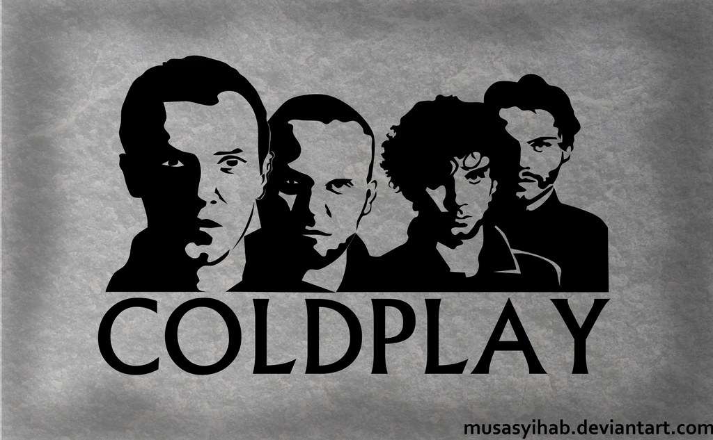 Monochrome Coldplay Wallpaper By Musasyihab On Deviantart
