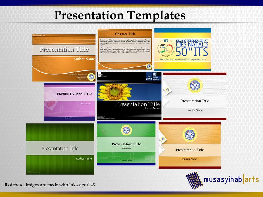 Presentations Template by musasyihab on DeviantArt