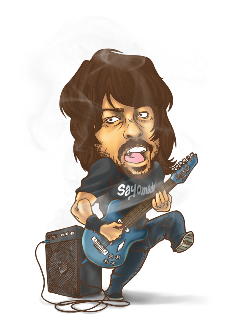 DAVE GROHL by SAYOMADEIT