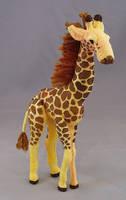 Charlie the giraffe by Shalladdrin
