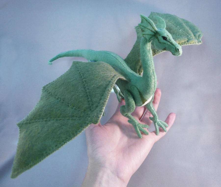 Winged Dragon by Shalladdrin