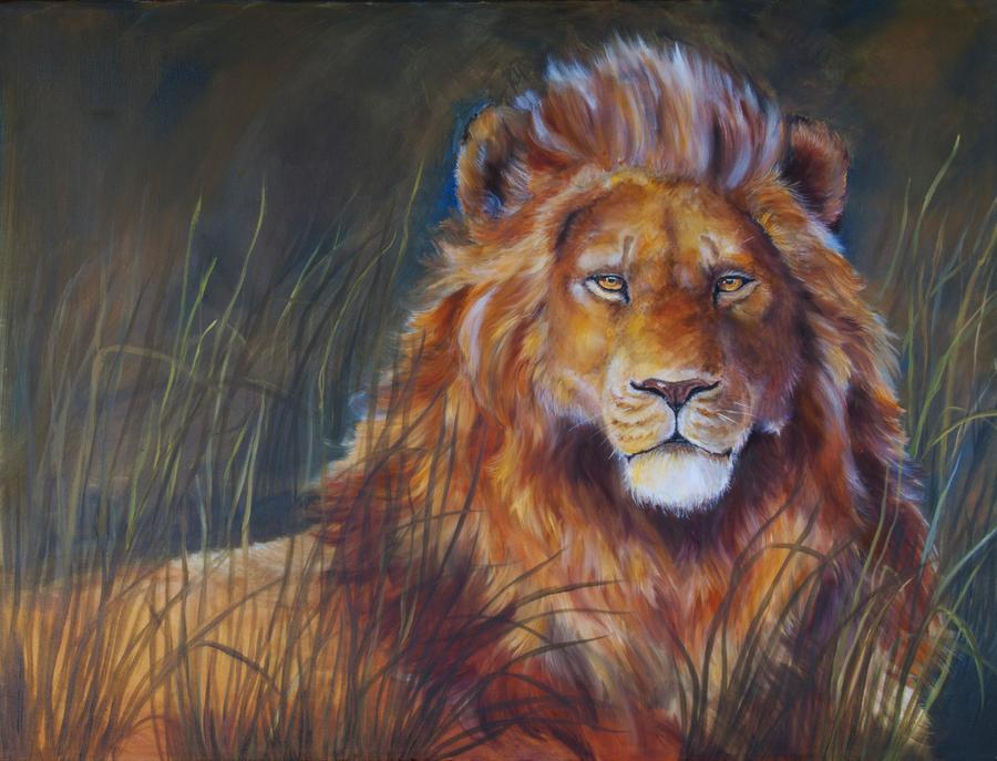 Lion by Shalladdrin