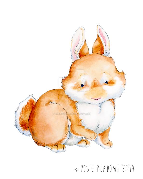 Twillip the Bunny by Shalladdrin