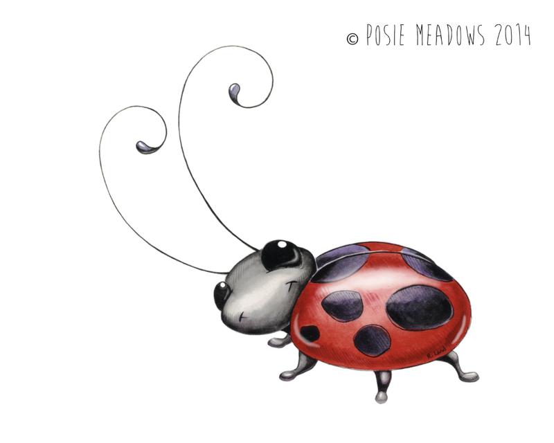 Tildy the Ladybug by Shalladdrin