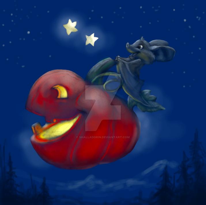 The Magic Pumpkin by Shalladdrin