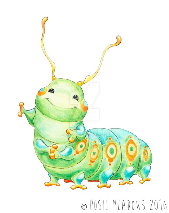 Scootch the Caterpillar by Shalladdrin