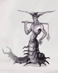 Human Centipede by JHKris