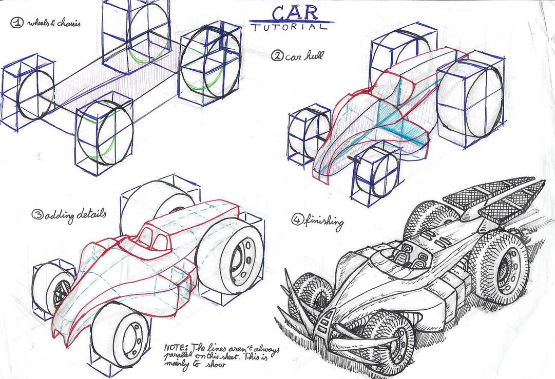 car perspective tutorial by akaga