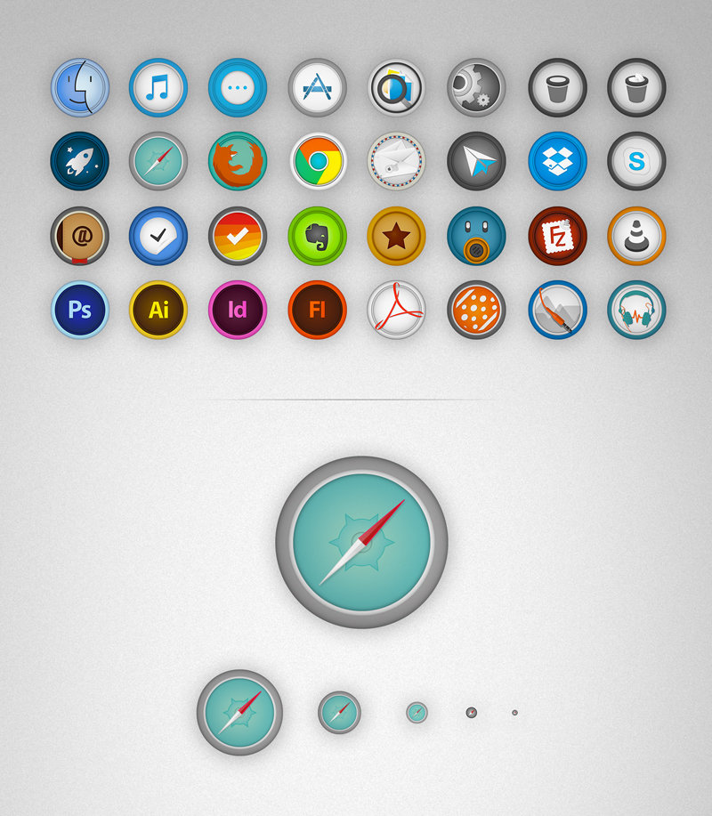 Mac Apps Icon Set by Rud3Boy