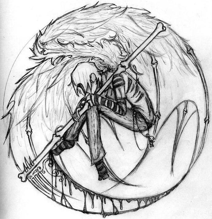 Scythe Boy By Voodooxfishy On DeviantArt