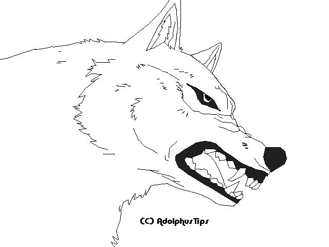 wolf rain coloring pages - photo#47