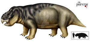 dicynodont giant Poland