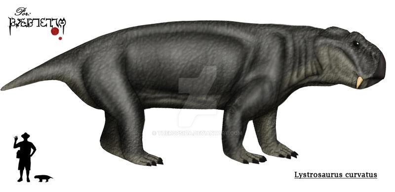 Resultado de imagem para Lystrosaurus