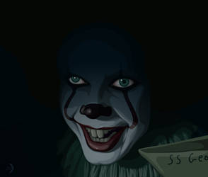 IT - Pennywise by RexPLuna