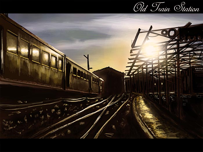 old train station by Androgs on DeviantArt