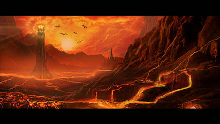 Mordor by Androgs
