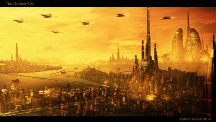 The Golden City by Androgs