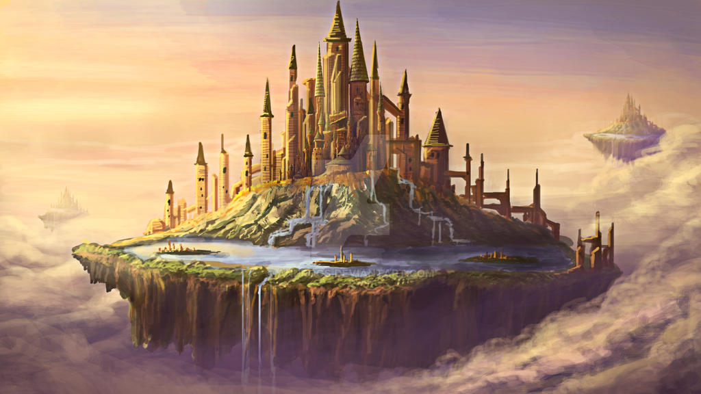 Sky Castle by Androgs