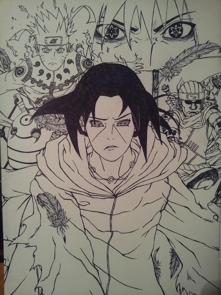 Naruto-Volume 58th Personal Cover by michinoli