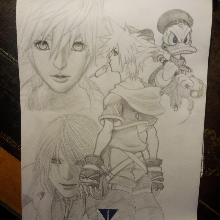 Kingdom Hearts. SORRY 4 BAD QUALITY by michinoli