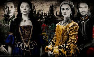 Founders of Hogwarts by etherealemzo