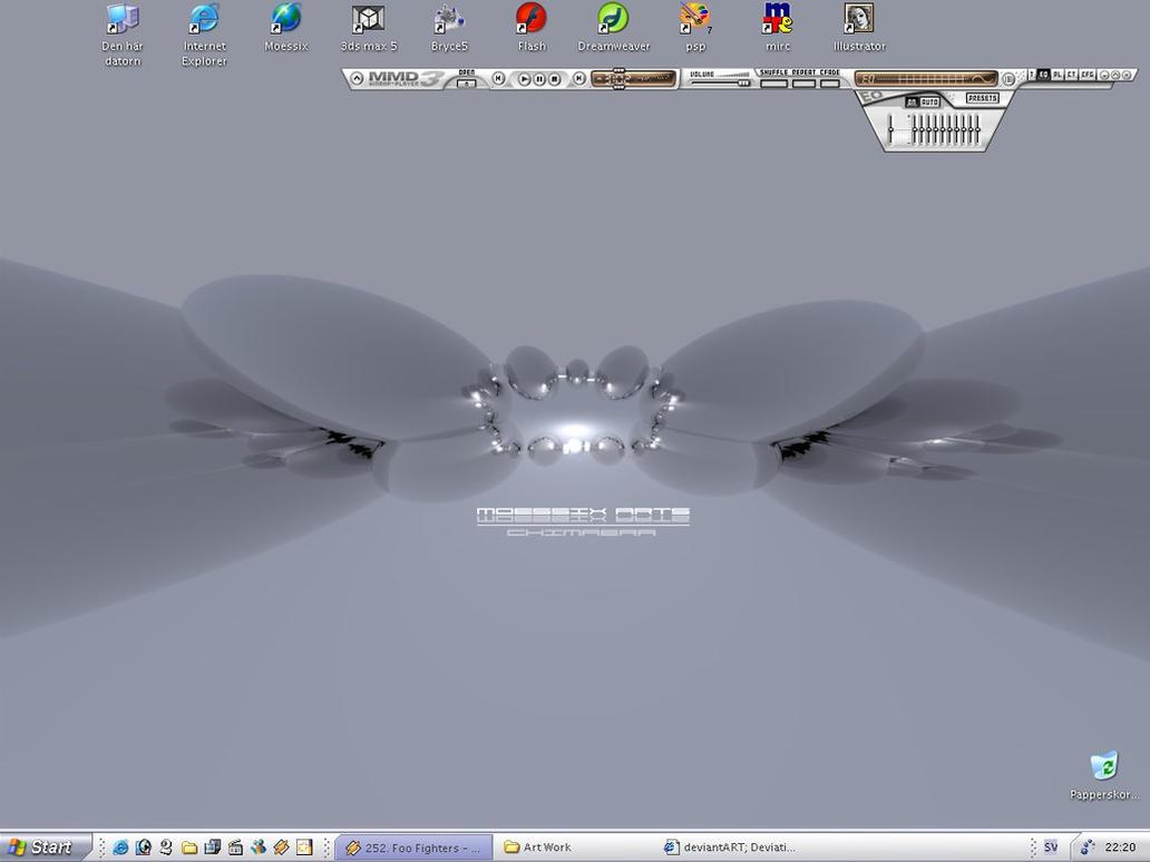 Moessix Desktop -Rhodium- by moessix-arts