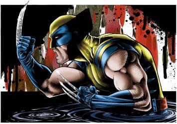 Marvel Comics's Wolverine by plbcomics