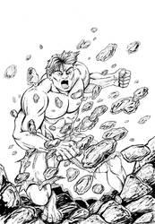Incredible Hulk by plbcomics