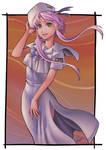 Akari Aquamarine from Aria by Stan-kun81
