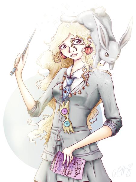 luna lovegood by lanini