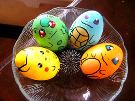 Pokemon Easter Eggs by lanini