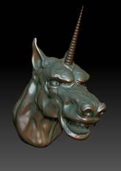 Special Speedy Demon Unicorn by Kirinov
