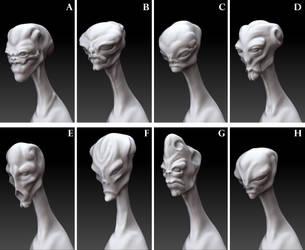 WIP - Alien concepts by Kirinov