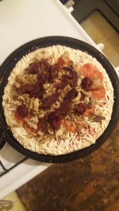 Digorno pepperoni  pizza by BruceHulkBanner