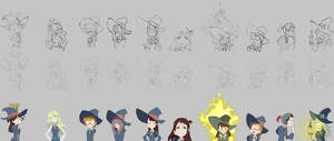 Little Wich Academia collection (evolution)