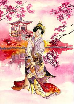 Cherry blossoms - gift