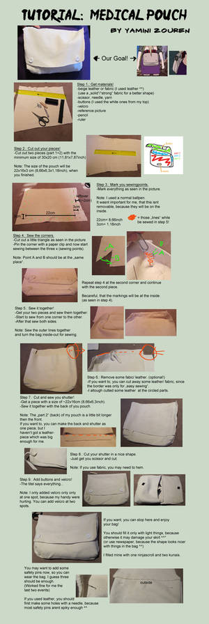 Tutorial: Medical Pouch