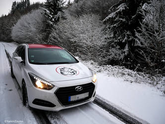 Snow and my car