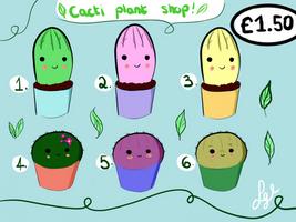 Cacti Adoptables :) (1.50 Paypal)