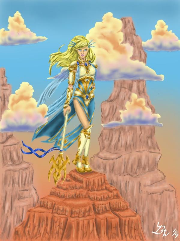 Sky Warrior by EternallyMJ