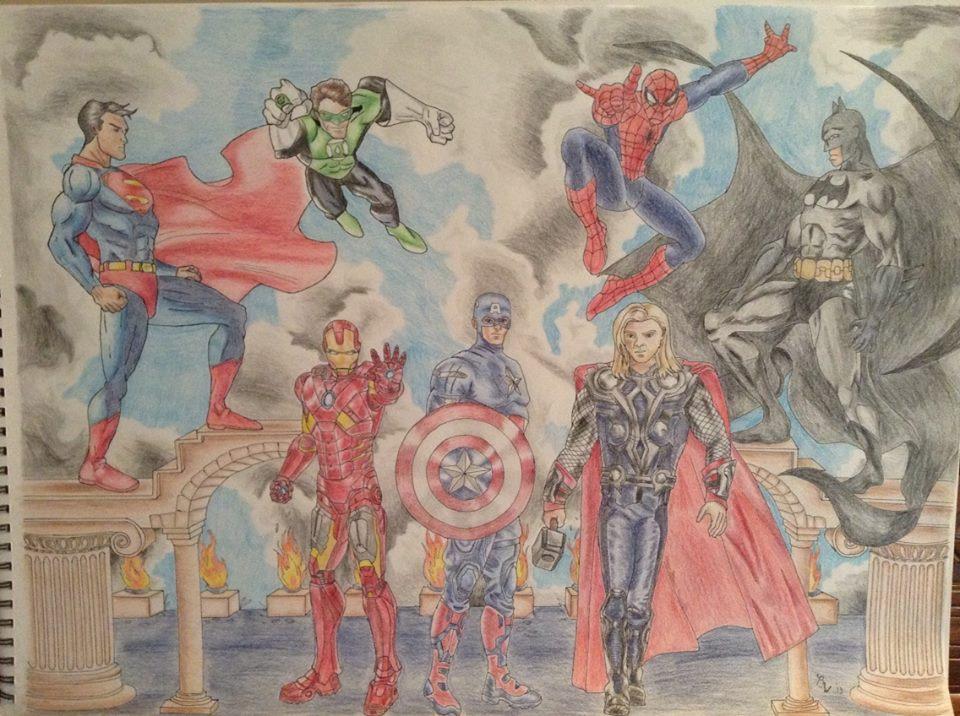 Heroes Unite by EternallyMJ