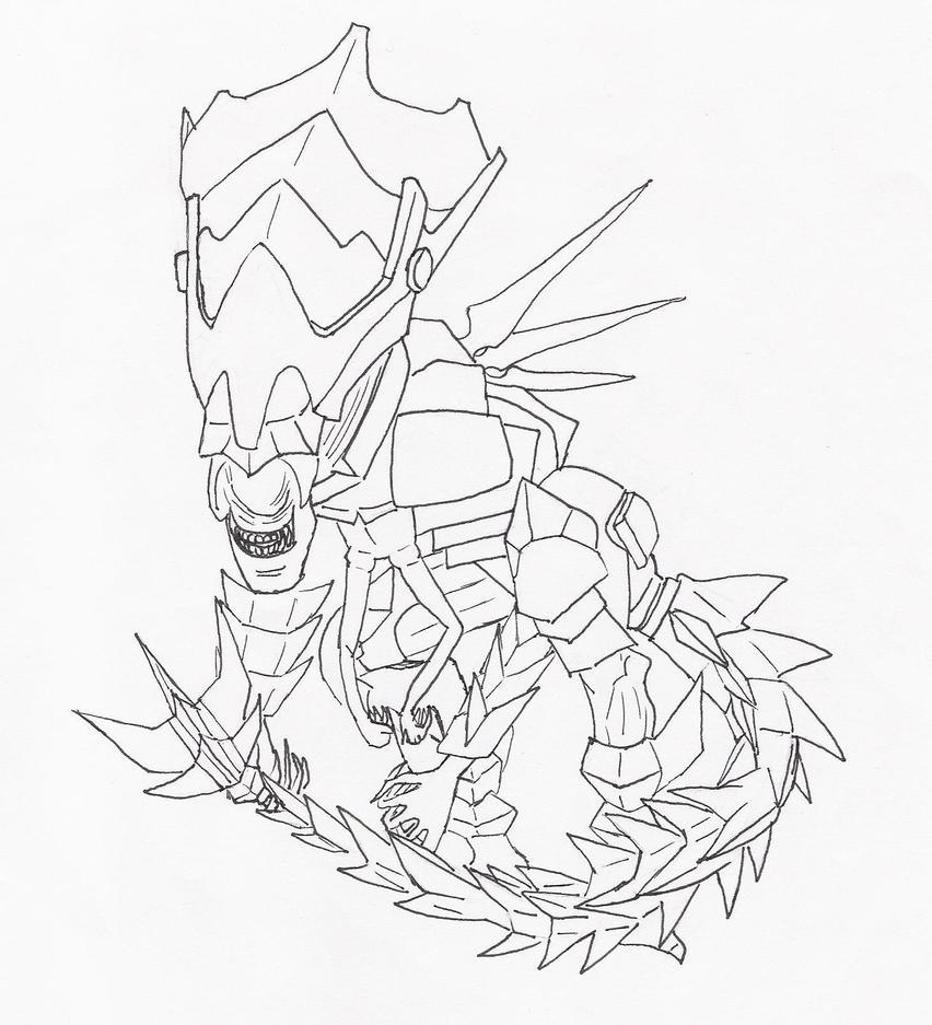 Queen Alien Armor by EternallyMJ