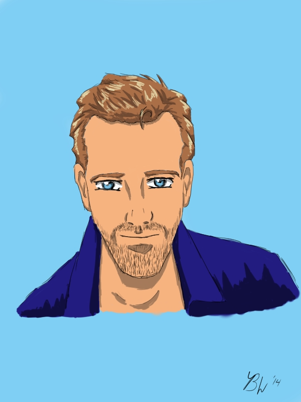 Hugh Laurie/House Anime by EternallyMJ